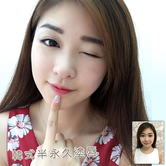 Korean Style Lip|Lip Semi-Permanent|Semi-Permanent Makeup|Hong Kong Semi-Permanent Makeup|Lip Tattoo
