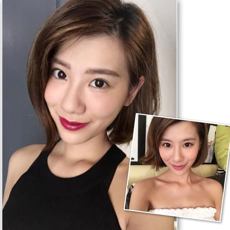 Internet celebrity MikiMickey Chan Korean 3D Micro-blading Eyebrow sharing