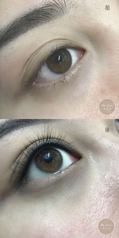 3分鐘隱形眼線即時實拍不紅不腫