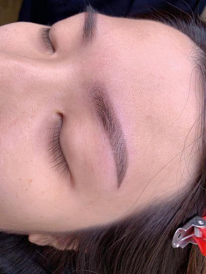 光影素描眉Yumi師傅作品